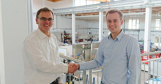 Projekt Franz Ziel Handshake